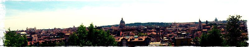 panorama roma
